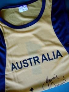 Signed Australia shirt