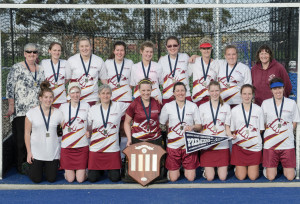 D1 Women Grand Final - Premiers - Newtown Falcons
