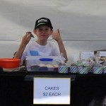 Minding the Cake Stall